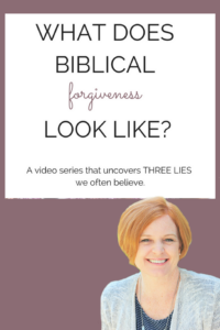 What Does Biblical Forgiveness Look Like FREE video course