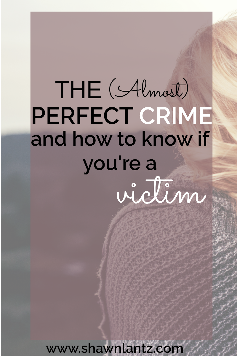 The (Almost) Perfect Crime